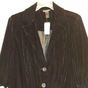 Lane Bryant Velvet Jacket Blazer